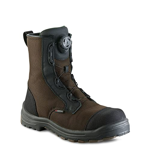 9657978ca83 Red Wing 3282 Mens 8 Inch Green Waterproof Safety Work Boot Metal Free  Vibram