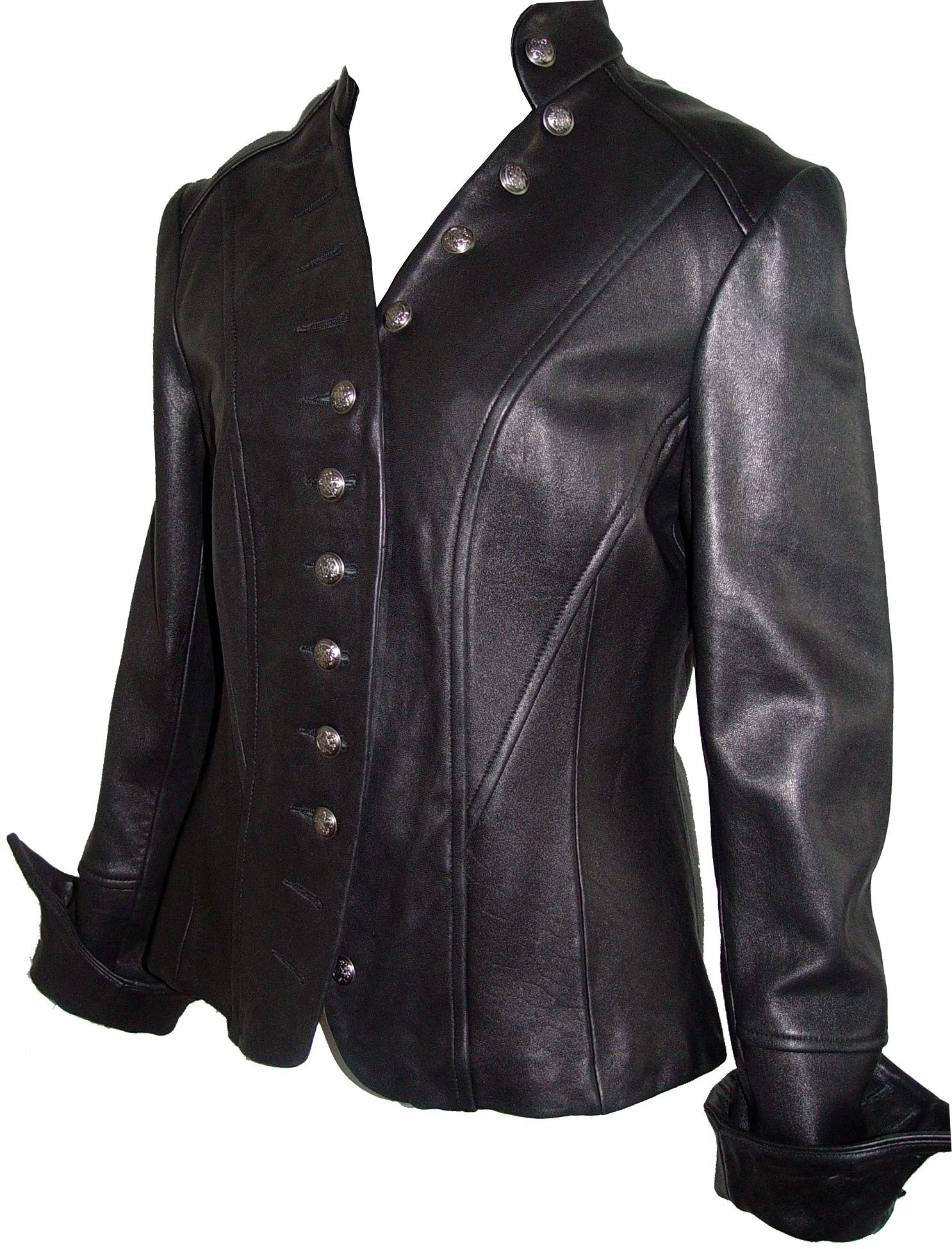 Johnny 4003 Best Cool Leather Blazer Jackets Fitted Business Clothing Soft Lamb by Johnnyblue (Image #5)