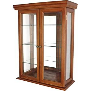 Ordinaire Design Toscano Glass Curio Cabinets   Country Tuscan   Wall Mounted Curio  Cabinet