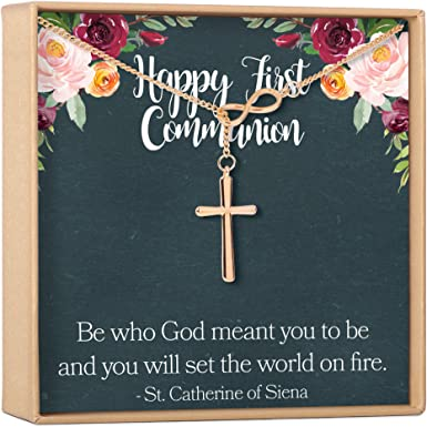 Religious First Communion Baptism Cross Party Return Address Labels Personalized ~ We Print and Mail to You