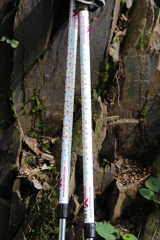 Mujeres y Ni/ños Dise/ños para Hombres Gabel Exel Swix | Fizan vipole Senderismo Hockey y Custom Bast/ón Trekking Leki stiXskin 2/Color Decorativo Vinilo Wraps para Marcha N/órdica