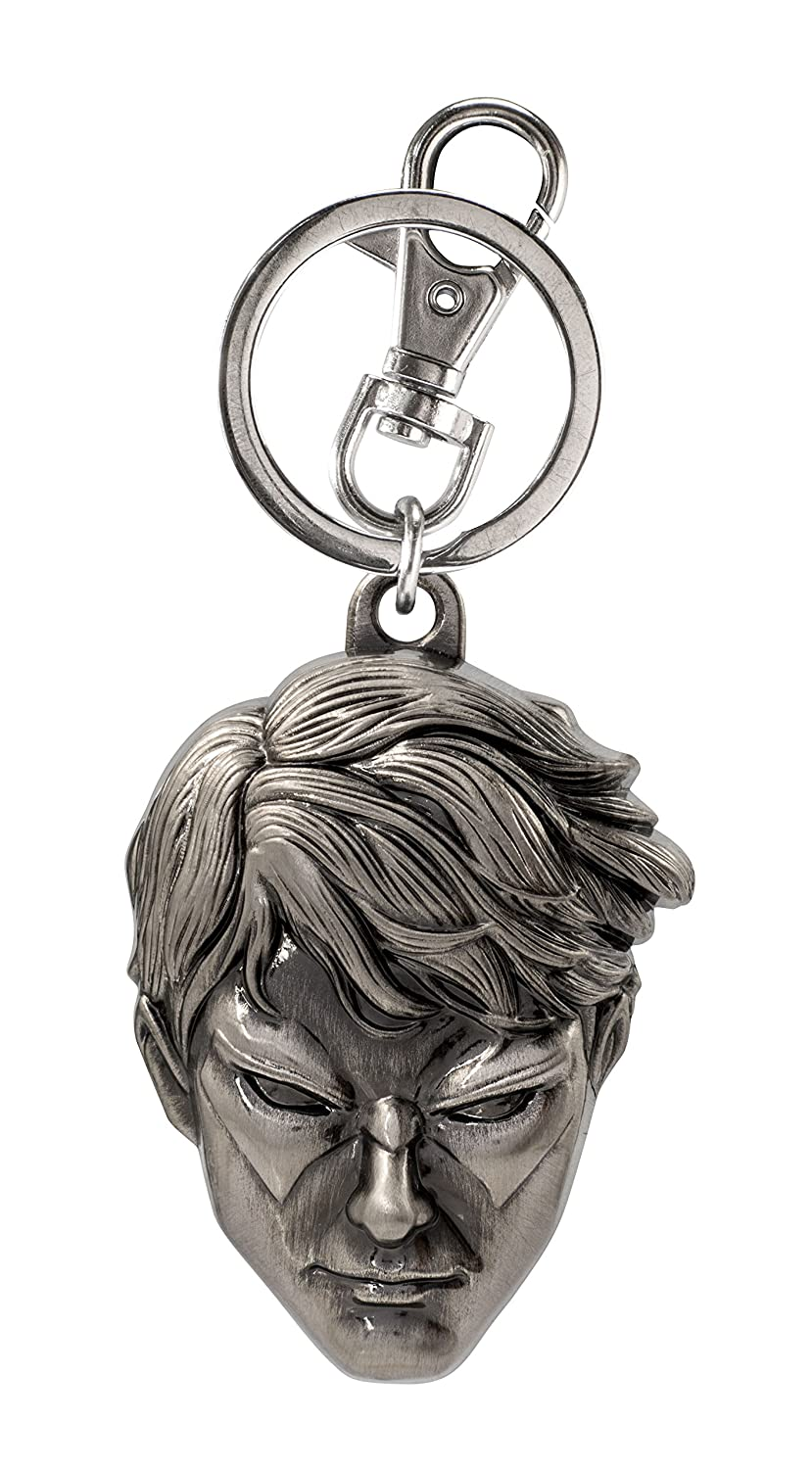 DC Comics Nightwing Head Pewter Key Ring