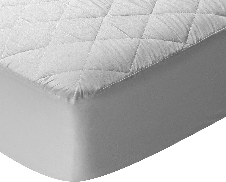 Pikolin Home - Protector de colchón/Cubre colchón acolchado, impermeable, antiácaros, 160x190/200cm-Cama 160 (Todas las medidas)