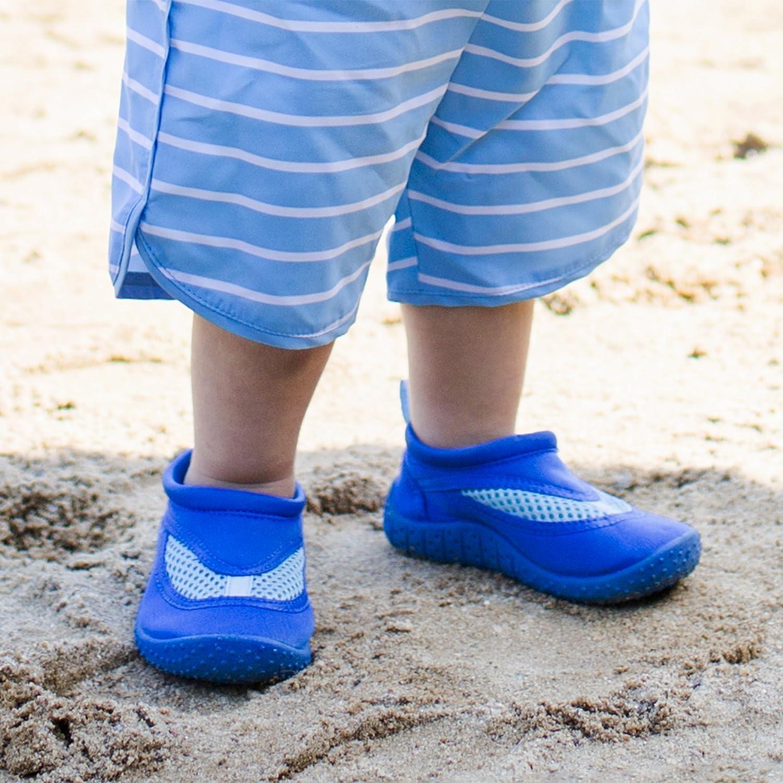 Size 4, Infant, Royal i play Swim Shoes for Unisex