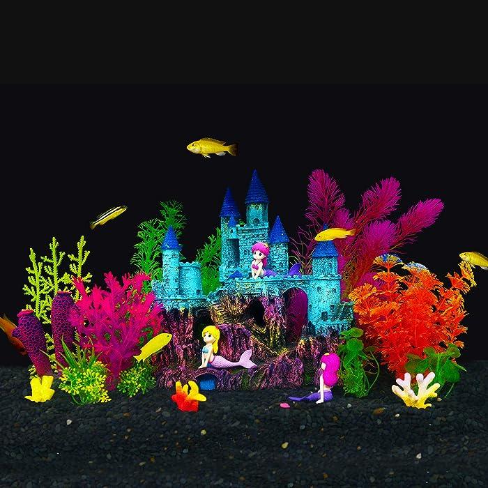 Top 8 Mermaid Fish Tank Decor