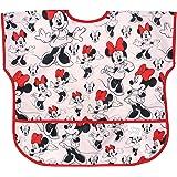 Bumkins Junior Bib / Disney Short Sleeve Toddler Bib / Smock 1-3 Years, Waterproof, Washable, Stain and Odor Resistant – Minn