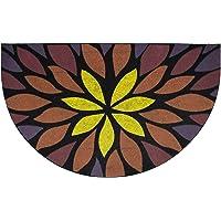 GizHome Oscar Kapı Paspası 40X65 Yarımay Yıldız Çıçek