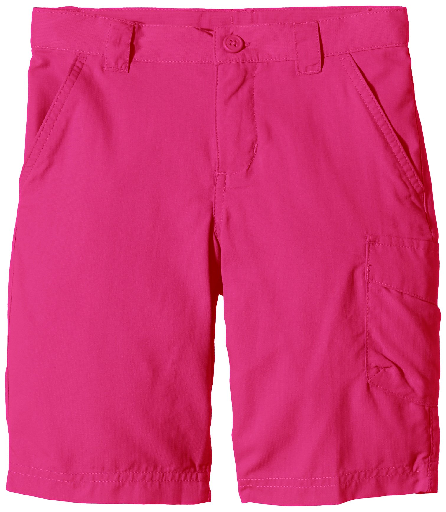 Columbia Girls Silver Ridge III Short, Haute Pink, X-Large by Columbia