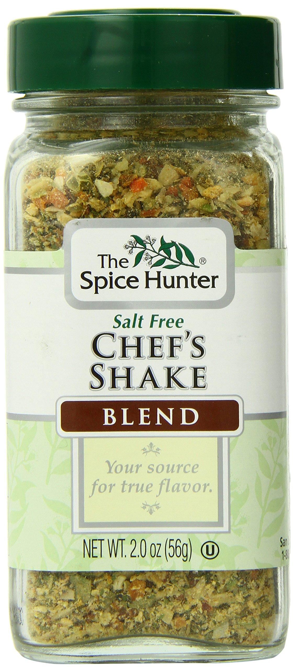 The Spice Hunter Salt Free Chefs Shake Blend, 2-Ounce Jar