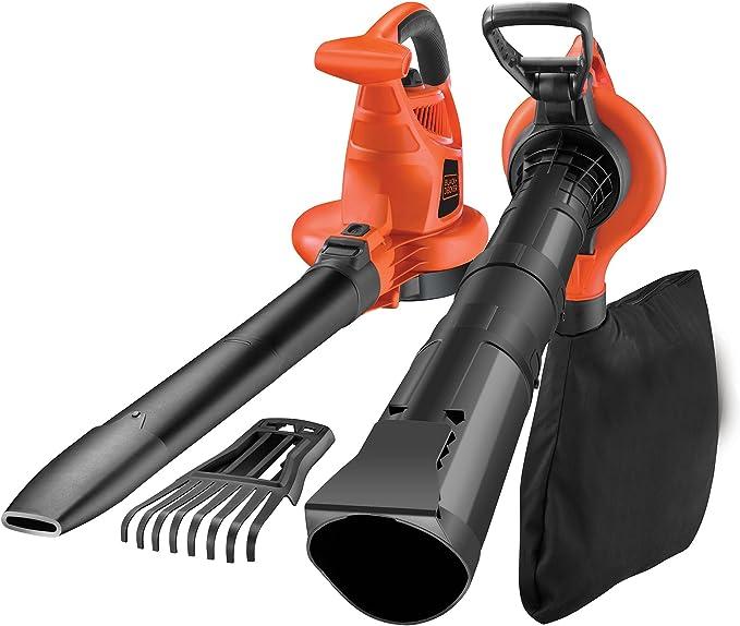BLACK+DECKER GW3050-QS - Soplador, aspirador y triturador de hojas ...