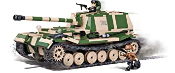 elefant Cobi 2507 Spielzeug Sd.kfz Grün 184 Panzerjäger Tiger Schwartz,