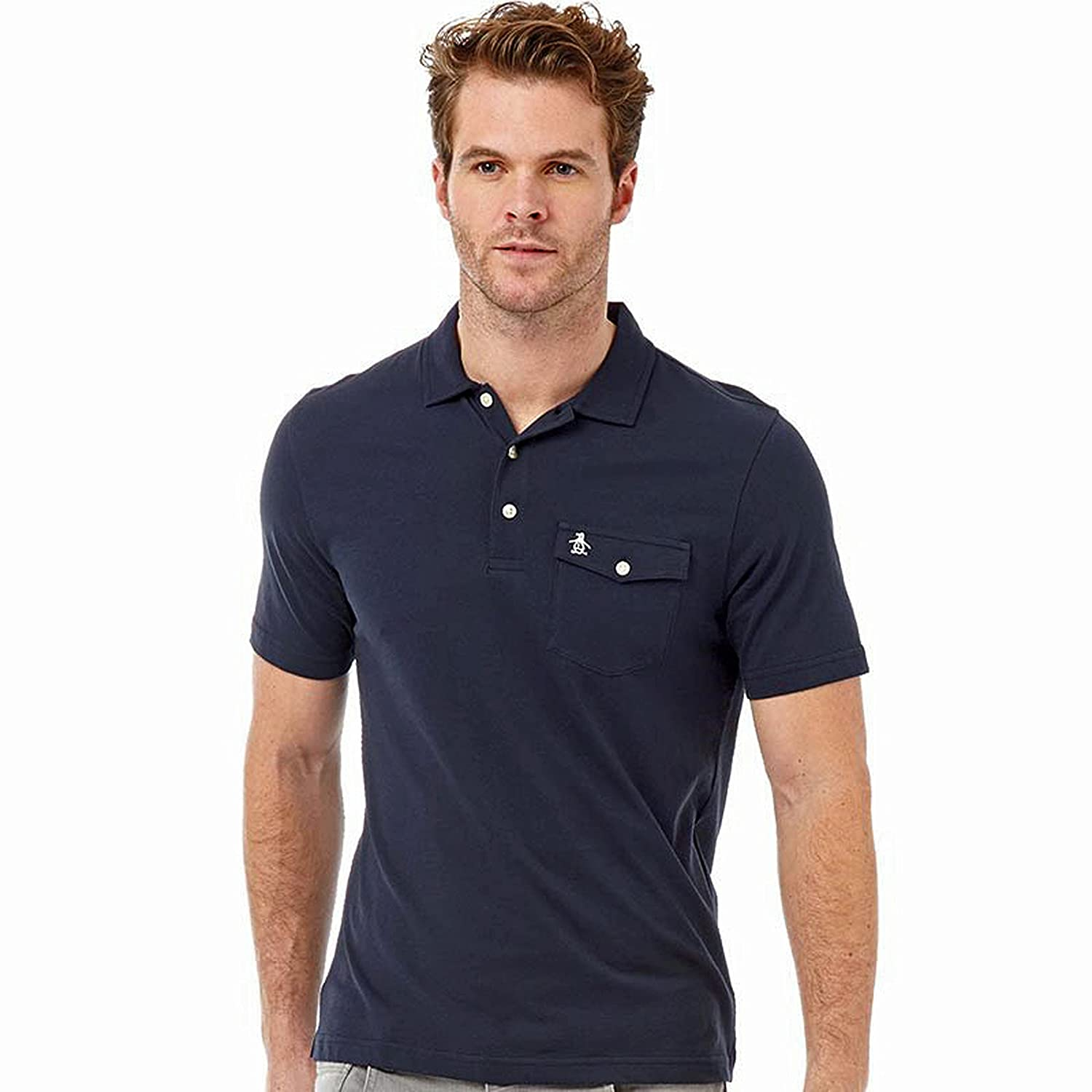 ORIGINAL PENGUIN - Polo - para Hombre Azul Total Eclipse (Marina ...