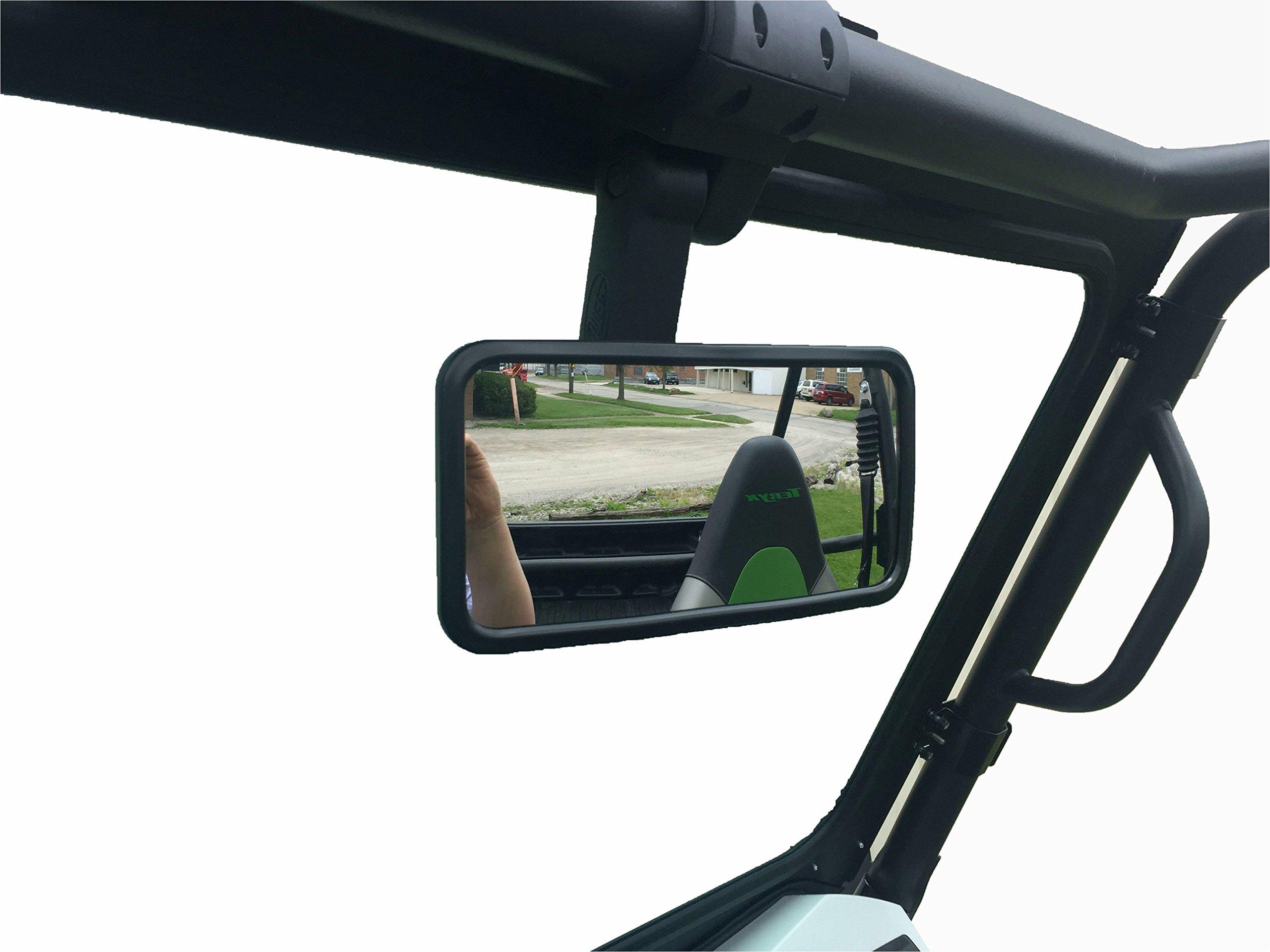 P/N 13155-Rectangle UTV -Smack Back Buggy Mirror-Rectangle 8'' x 4''