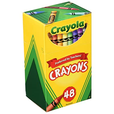 Crayola 48ct Crayons (Pack of 2): Toys & Games