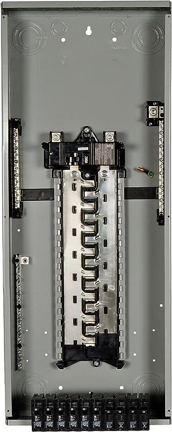 Siemens 40-Circuit 30-Space 200-Amp Load Main Breaker Electrical Panel Box