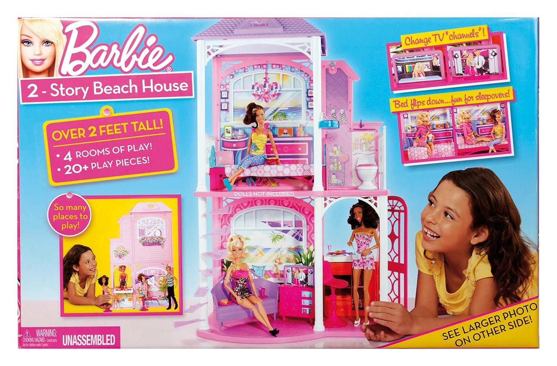 Amazon.com: Barbie 2-Story Beach House: Toys & Games