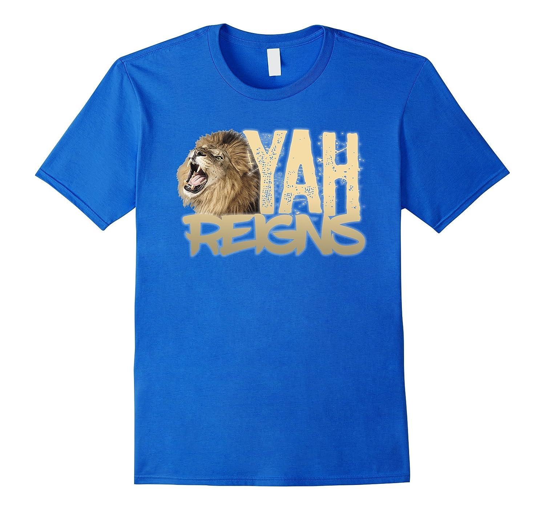 b983c2c657c Hebrew Israelite Tribe Jacob Judah Lion Yah Reigns T-Shirt-ANZ ...
