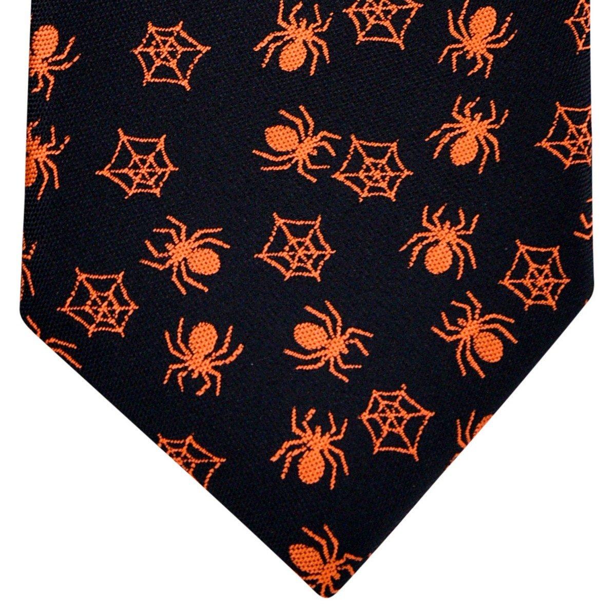 Retreez Joyful Fun Happy Halloween Pattern Woven Boys Tie 8-10 years