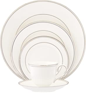 Lenox Federal Platinum Bone China 5 Piece Place Setting, Service For 1