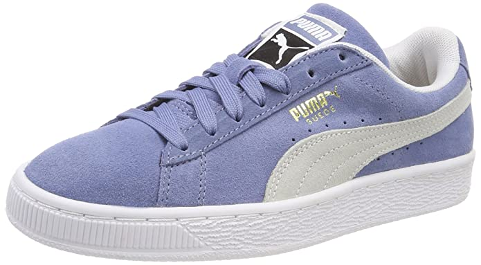 Puma Suede Classic Sneaker Damen Herren Unisex Wildleder Blau (Infinity)