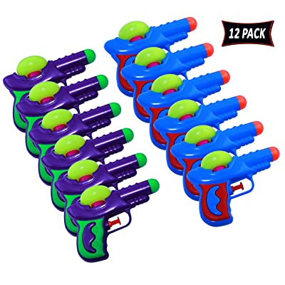 Water Squirt Gun For Kids - 12 Pack Water Guns: Toys & Games