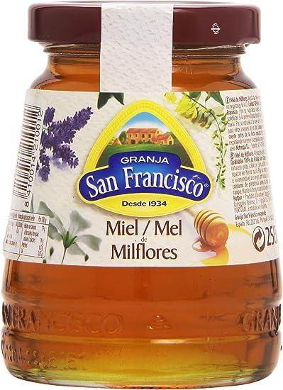 Granja San Francisco Miel Milflores, 250g