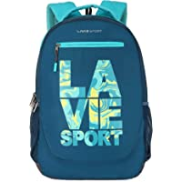 Lavie Sport 34 Ltrs Teal School Backpack (BDEI927043N4)