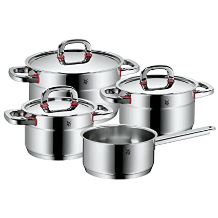 WMF Premium One - Batería de Cocina, 4 Piezas
