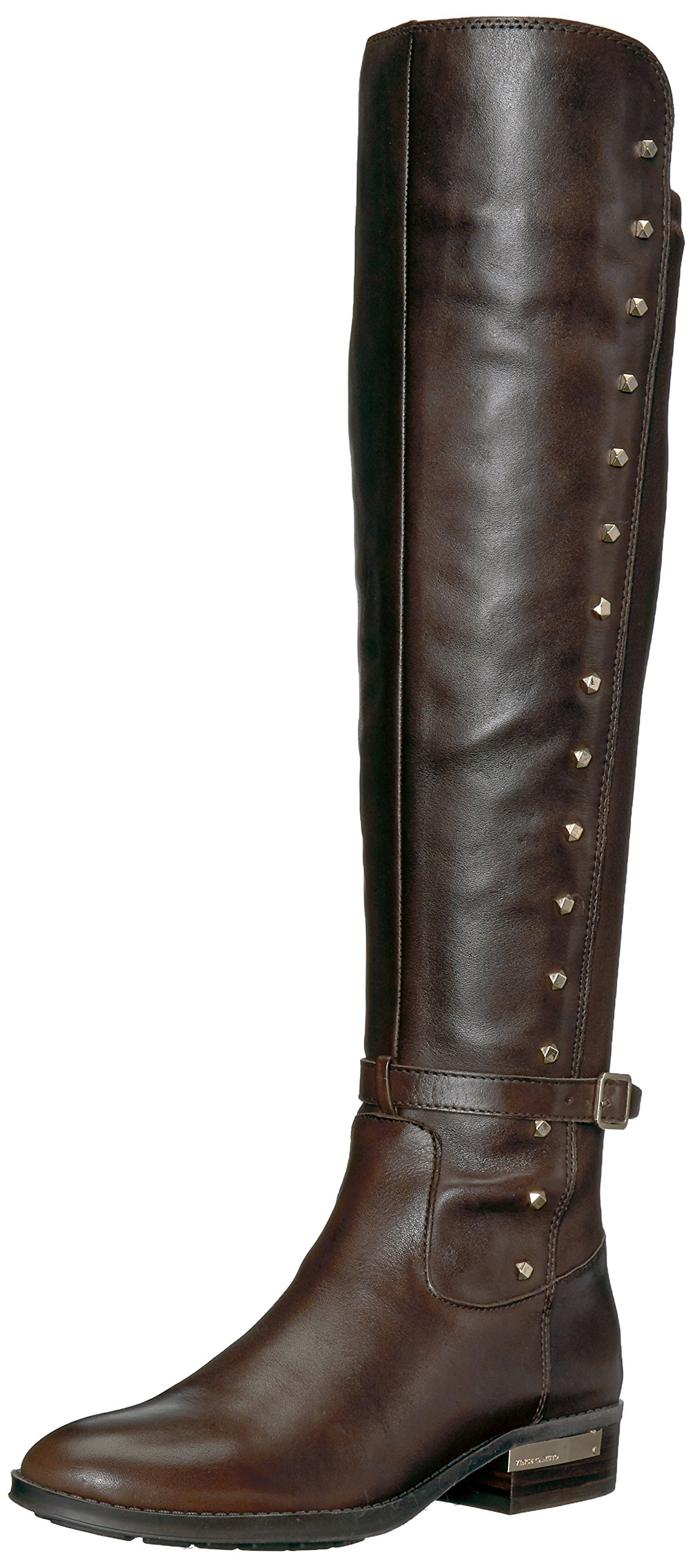 Vince Camuto Women's Pelda Over The Knee Boot, Fudge Brownie, 7.5 Medium US