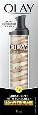 Olay Total Effects Tone Correcting CC Cream with Sunscreen SPF 15,
