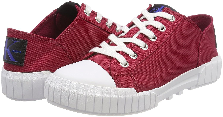 Calvin Klein Jeans Damen Bianca Nylon Sneaker Rot Rot Sneaker (Drd 000) 305d7f