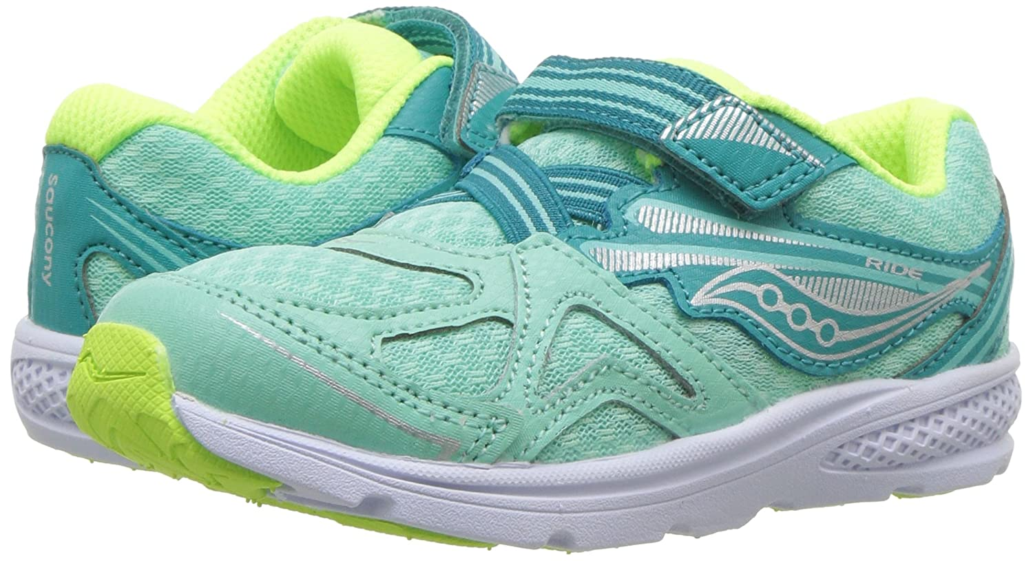 fe98a826 Saucony Kids' Baby Ride 9 Sneaker