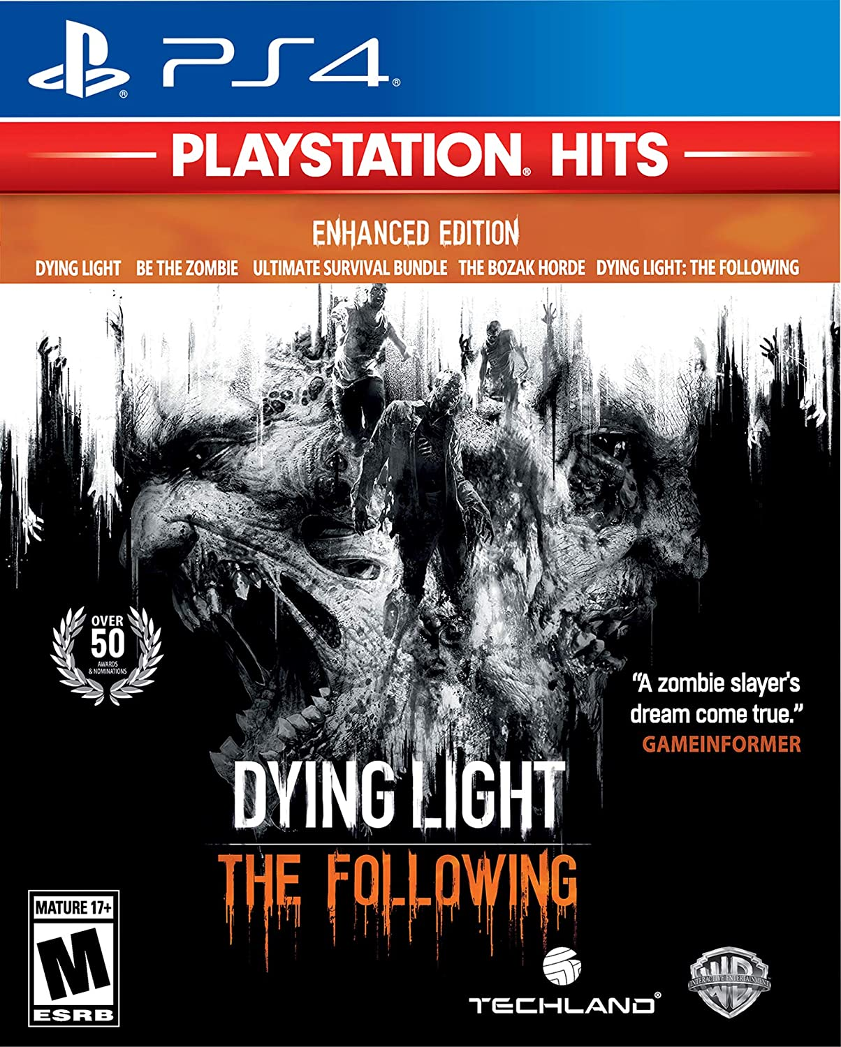 Amazon com: DYING LIGHT: THE FOLLOWING - ENHANCED EDITION - PS4