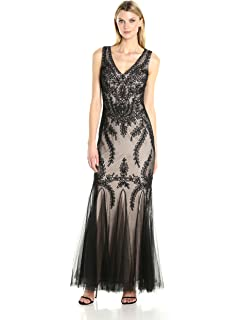 ed318f607f Cachet Women s Embroidered Tulle Gown