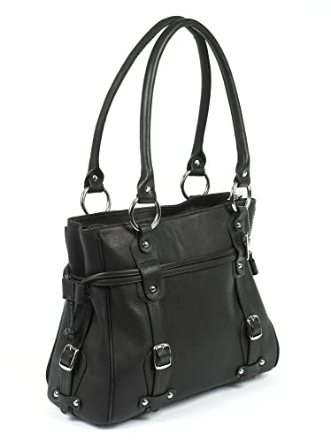 Amazon.com: Valencia handbag-regular Color: Negro: Shoes