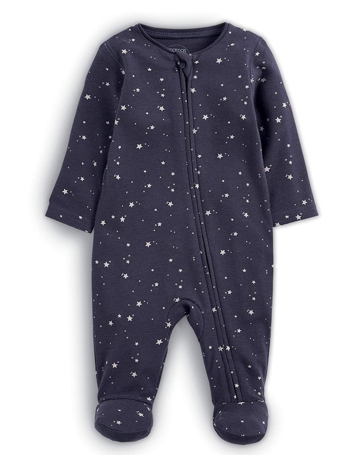 Mamas & Papas Baby-Jungen Strampler Star Zip All in One Mamas and Papas