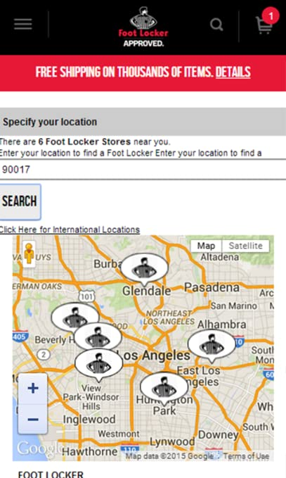 Amazon.com: Foot Locker: Appstore for Android