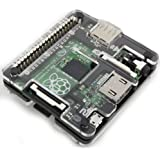 Raspberry Pi A+ Acrylic Case - Ebony Black