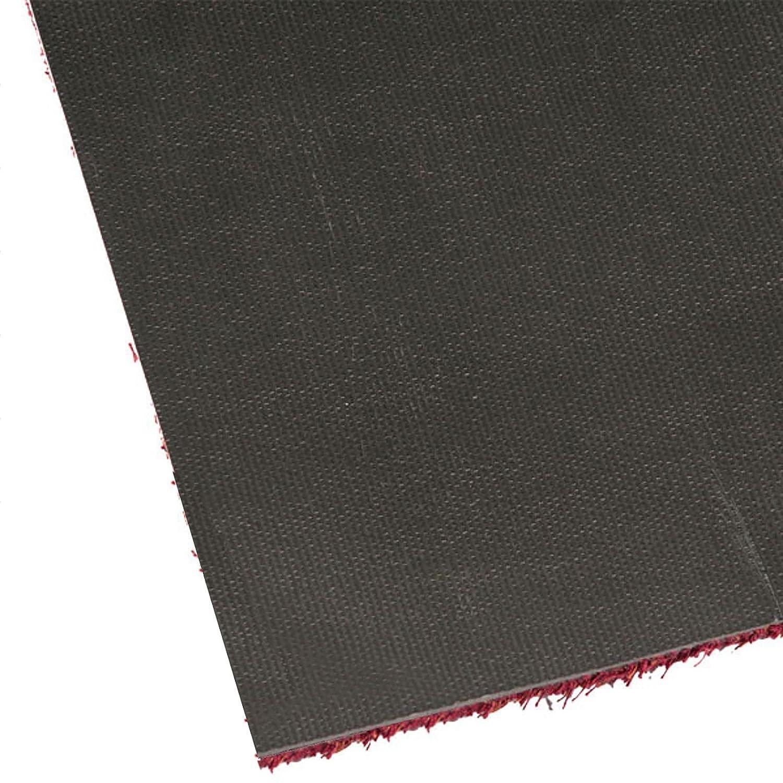 Fußmatte Karat für Eingangsbereiche   extra saugstarke Schmutzfangmatte Schmutzfangmatte Schmutzfangmatte aus Baumwolle   rutschfest   waschbar   zahlreiche Größen   viele Farben   100x150 cm   Grau af4711