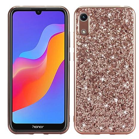 XFZ Funda Huawei Y6 2019 Brillante Bling Glitter Cover Moda ...