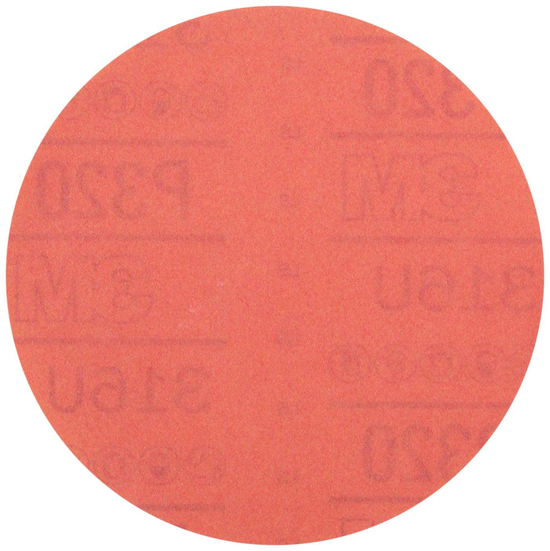 3M 01218 Hookit Red 6 P400 Grit Abrasive Disc