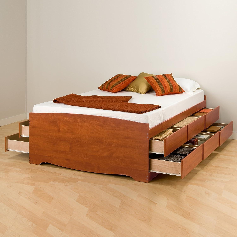 best platform bed with storage