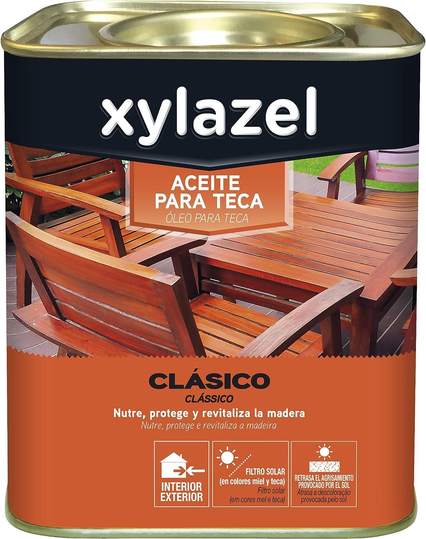Xylazel M93822 - Aceite teca 750 ml teca: Amazon.es: Bricolaje y herramientas