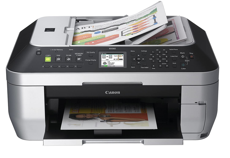 Amazon.com: Canon PIXMA MX860 Wireless All-In-One office Printer:  Electronics