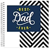 """Dad Keepsake Journal   Fun 8x8"""" Memory Books from Daughter or Son   Memory Scrapbook for Dads   Keepsakes Gifts for Fathers   Perfect Gift for Father's Day"""
