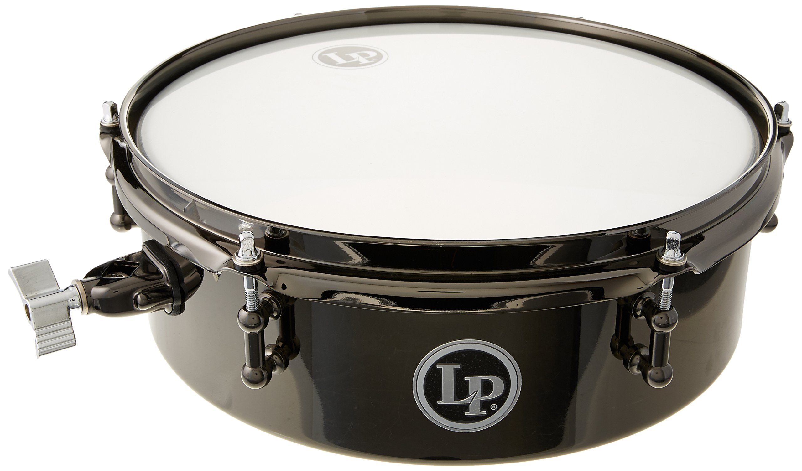 Lp Drum Set Timbale 4X12 Black Nickle by Latin Percussion