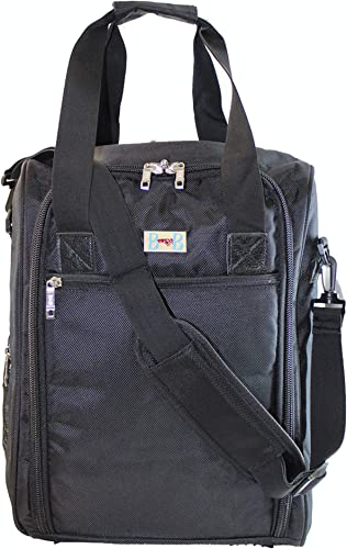 16 Personal Item Under Seat Duffel Bag for Airlines of American, Frontier, Spirit,SouthWest, Jetblue BK