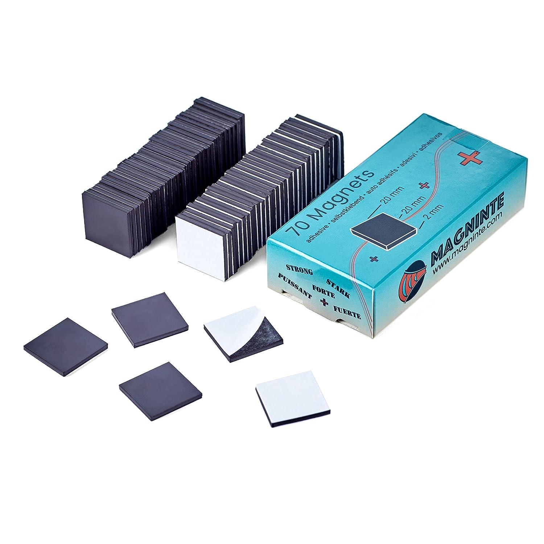 Neodimio Magnet 72 Picollo Puntine Magnetiche in Acciaio Inox per Mappe Bacheca Lavagna Pannelli Magnetici a Frigoriferi intervisio /Ø 12 x 16 mm Piccoli Metallo Potenti Coni Magneti