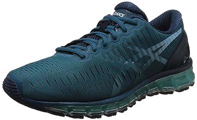 ASICS Men's Gel-Quantum 360 Ocean Depth, Crystal Blue and Ink Running Shoes  -