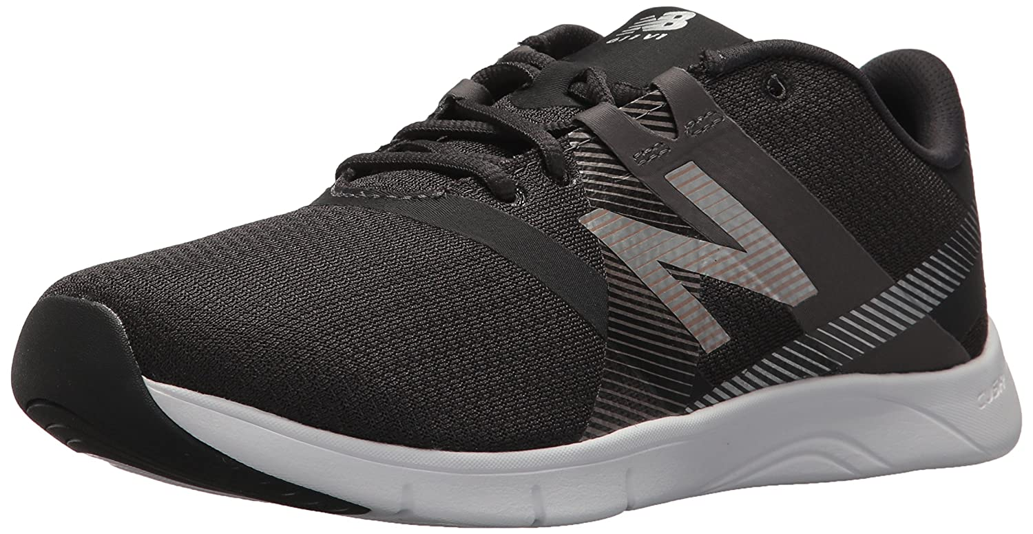 New Balance Women's 611v1 Cross Trainer B005ATOP1Q 10 B(M) US|Charcoal/Metallics